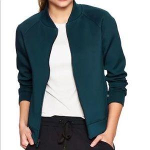 Gap Fit Teal Bomber Athletic jacket medium